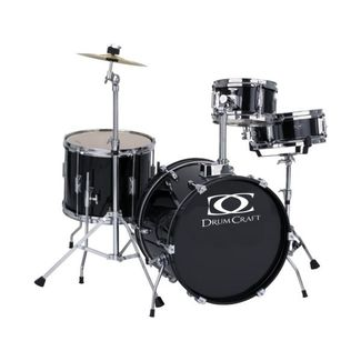 Drumcraft Junior 5-teilig Kinderschlagzeug Black