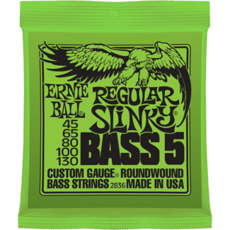 Ernie Ball E-Bass Saiten 045-130 5-String EB2836 Regular Slinky