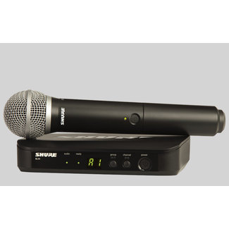 Shure BLX24/PG58 S8 Vocal Wireless System
