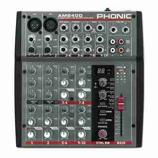 Phonic AM 240D Mischpult
