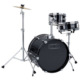 Drumcraft Junior 4-teilig Kinderschlagzeug Black