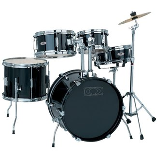 Drumcraft Junior 6-teilig Kinderschlagzeug Black