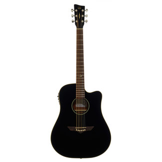 VGS RT-10C Root Westerngitarre Black