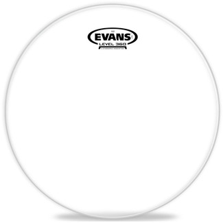 "Evans 12"" TT12G2 Tomfell Clear"