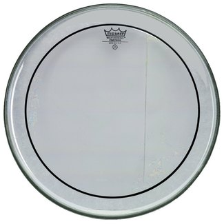 "Remo Pinstripe 16"" clear Tom"