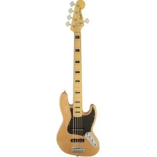 Squier by Fender Vintage Modified Jazz Bass 5-string Natur
