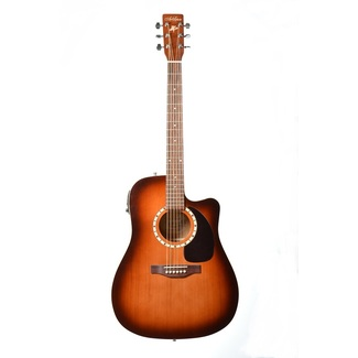 Art & Lutherie CW Cedar Antique Burst Godin EQ