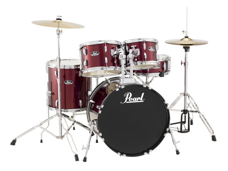 Pearl Roadshow RS505C/C91 Schlagzeugset Red Wine