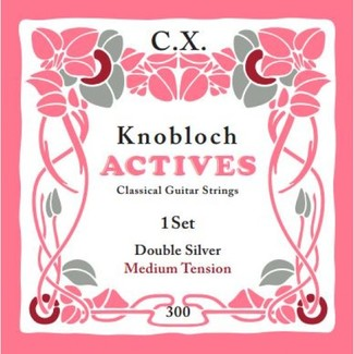 Knobloch Strings CX 300KAC Double Silver Carbon Medium Tension