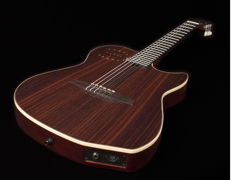 Godin Multiac Rosewood Nylon HG SA Limited Edition