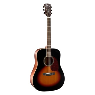 Cort Earth100 SB Sunburst Westerngitarre