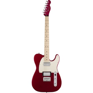 Squier by Fender Contemporary Telecaster HH Dark Metallic Red