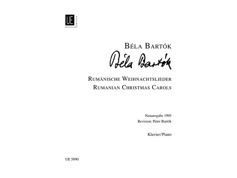 Rumänische Weihnachtslieder : für Klavier - Zweihaendig - musicline24.de
