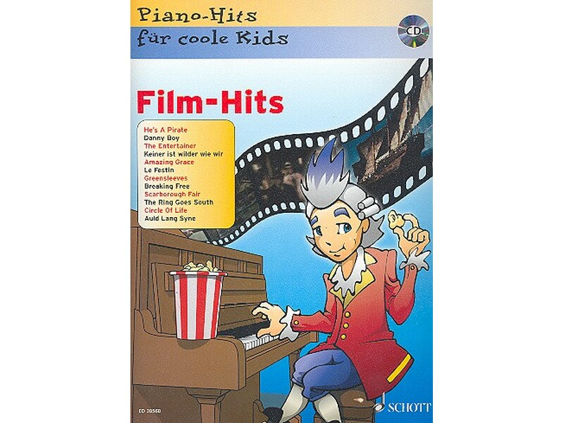 Film Hits Fur Coole Kids CD Klavier Piano