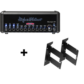 Hughes & Kettner Black Spirit 200 Rack RM-BS Bundle