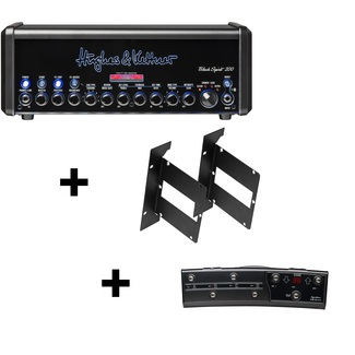 Hughes & Kettner Black Spirit 200 + FSM432 MK3 Midi Board Rack BUNDLE