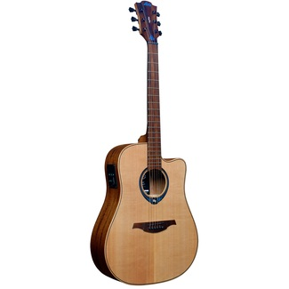 LAG Tramontane HyVibe 10 THV10DCE Dreadnought Westerngitarre