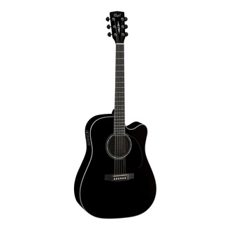 Cort MR710F Black Westerngitarre