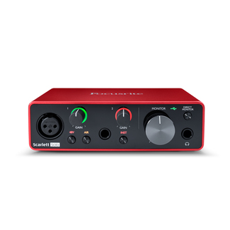 Focusrite Scarlett Solo 3rd Generation USB-Audio Interface