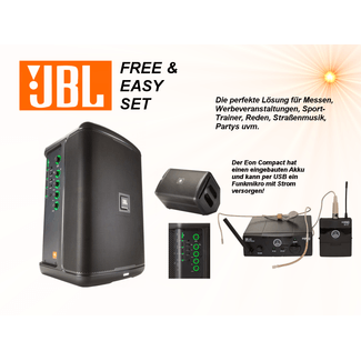 JBL EON ONE Compact Free and Easy Set