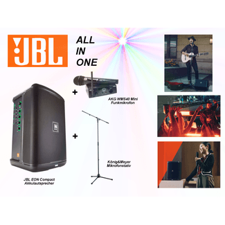 JBL EON ONE Compact Aktivlautsprecher All In One Set