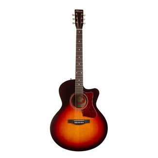 Norman B18 Mini Jumbo CW Cherry Burst A/E